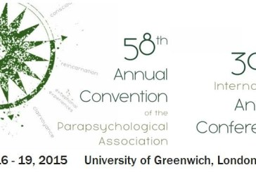 Annual Convention 2015 della Parapsychological Association