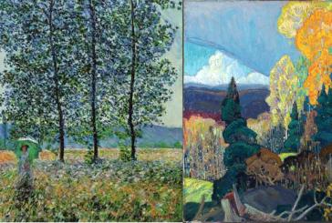 Due stagioni nella pittura: la primavera e l'autunno