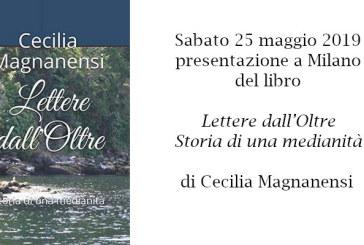 """Presentazione a Milano del libro """"Lettere dall'Oltre"""" di Cecilia Magnanensi"""