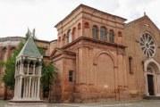 Le reliquie di san Domenico nella basilica a lui dedicata a Bologna