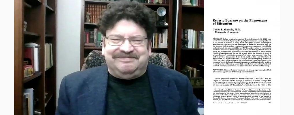 Carlos Alvarado e il suo impegno nella ricerca psichica